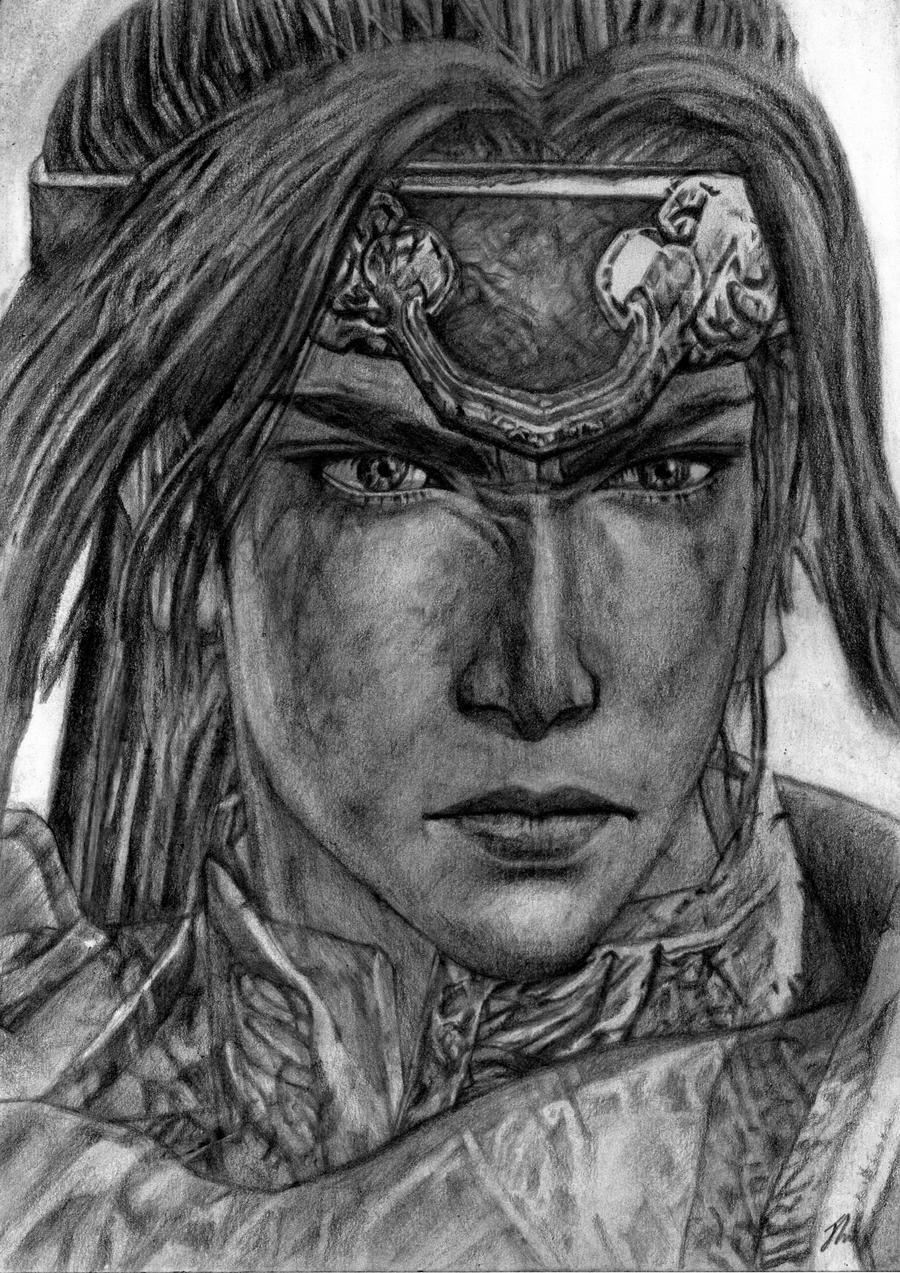 Zhao Yun, Dynasty Warriors 7 by LittleDragonZ on DeviantArt