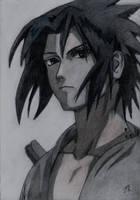 Sasuke Uchiha, Naruto by LittleDragonZ