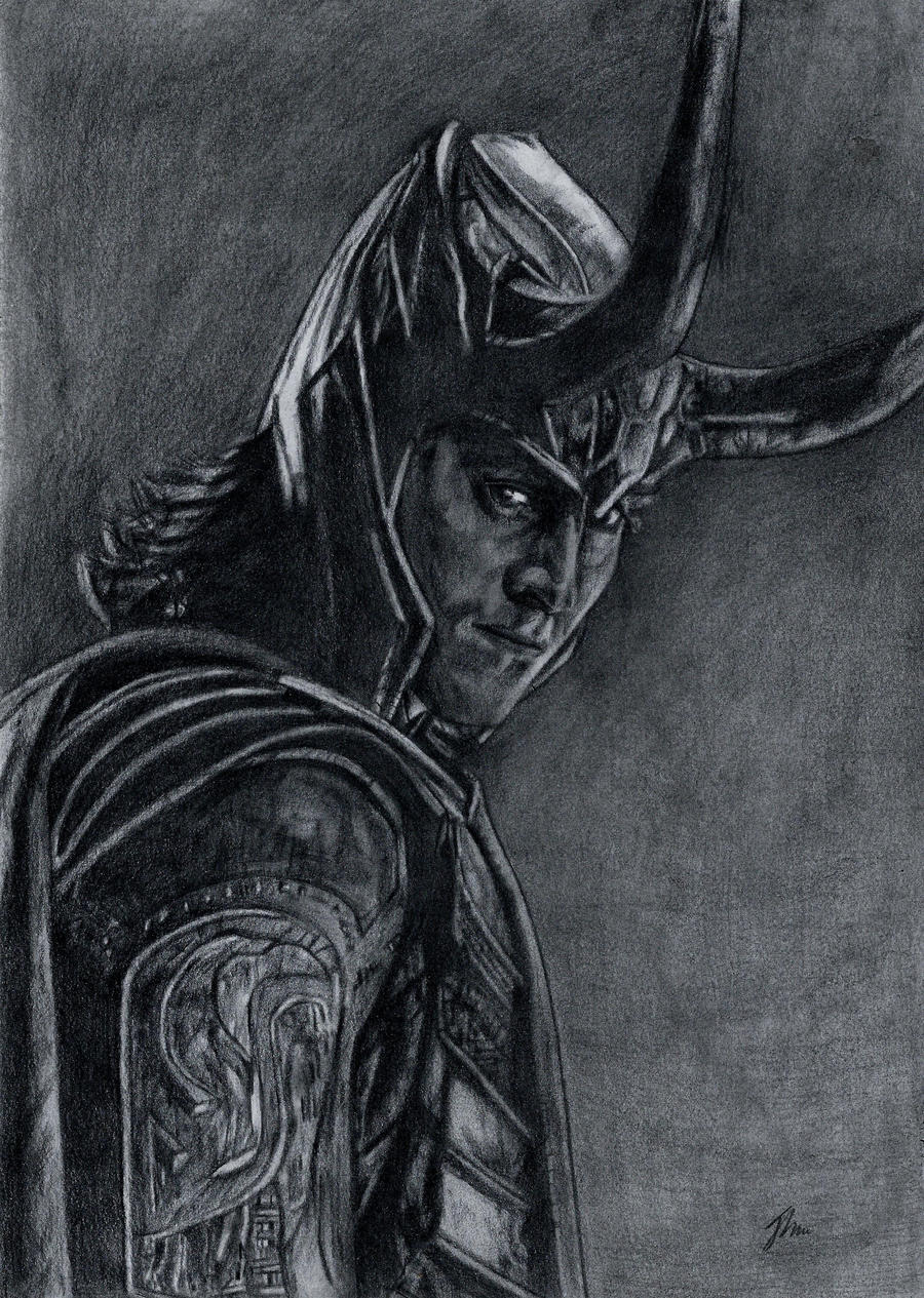 Loki, Avengers Assemble by LittleDragonZ