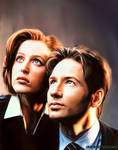 Mulder e Scully V1