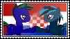 tpuk and Blue Lambda brohoof stamp by ThatPonyUknow