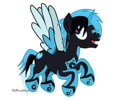 Azure-zecron Request by ThatPonyUknow