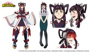 Chihiro Shuuzenji Reference by Miss-Mary-Grace