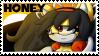 HoneytheCatStamp by HoneyFuckingLicious