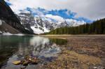 Moraine Lake In Spring