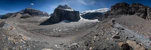 Plain Of Six Glaciers by Dani-Lefrancois