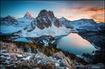 Assiniboine Sunset