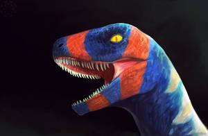 Colorful Raptor