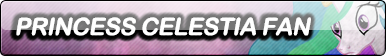 Commission: Princess Celestia Fan Button