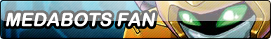 Commissions: Medabots Fan Button by AceRome