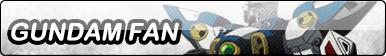 Gundam Fan Button by TyTrance