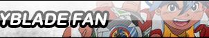 Beyblade Fan Button by TyTrance