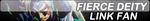Fierce Deity Link Fan Button by TyTrance