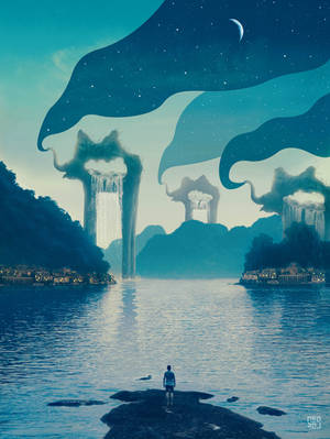 Big Waterfalls by KostyaNero9