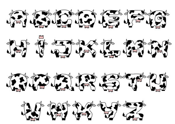 Typography : Cow Fonts by beanjean on DeviantArt