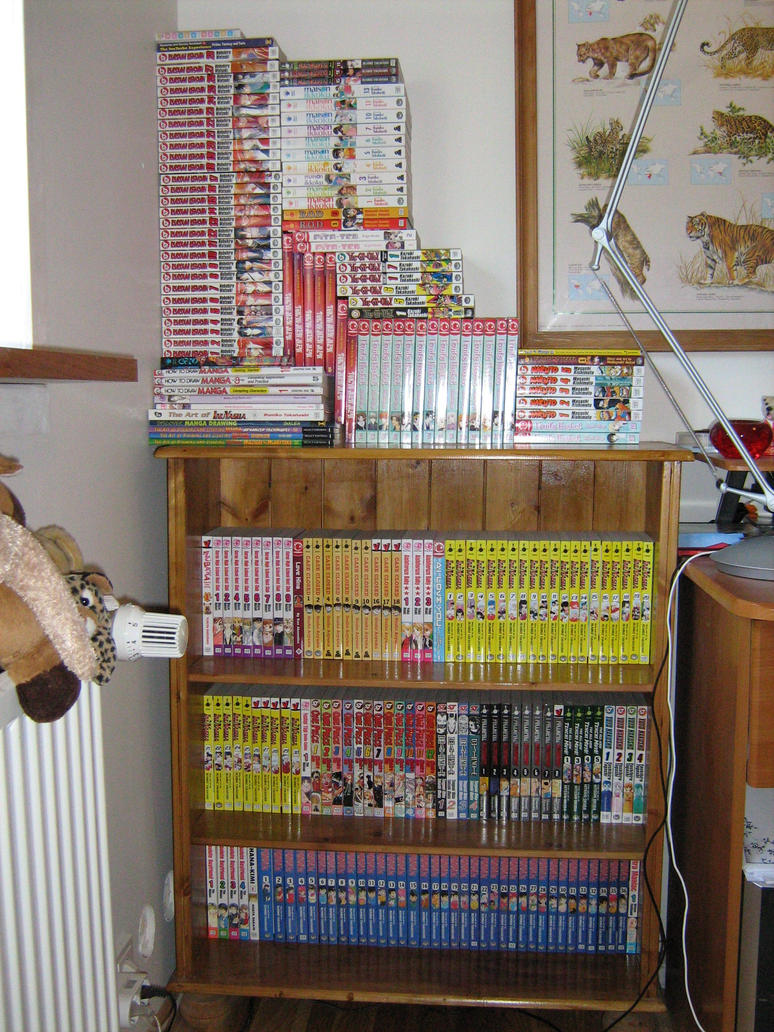 My Manga Collection By IcelandAnimeGirl