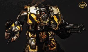 Iron warriors siege dreadnought