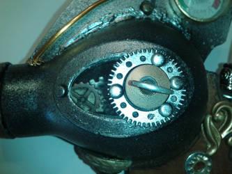 Ray Gun Detail- Gear Chamber by KenLaber