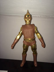 Spectreman 2 customized action figure by KenLaber