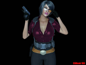 Ada Wong Alternate Outfit by CAHunk100