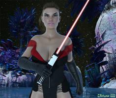 Dark Side Rey by CAHunk100