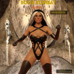 BOOB KOMBAT:Character Miranada