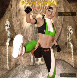 Boob Kombat: Character Tonya