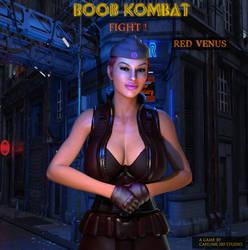 Boob Kombat: Character Red Venus