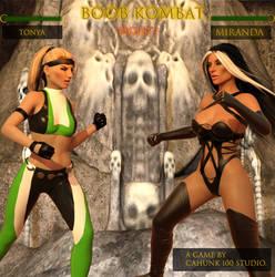Boob Kombat Miranda Vs Tonya (Preview Cover)