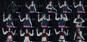 Claire Redfield (Female Muscle Morph Sequence)