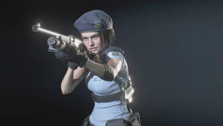 Jill looks like Milla Jovovich ?