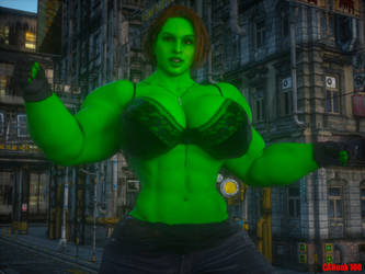 Jill Hulk by CAHunk100