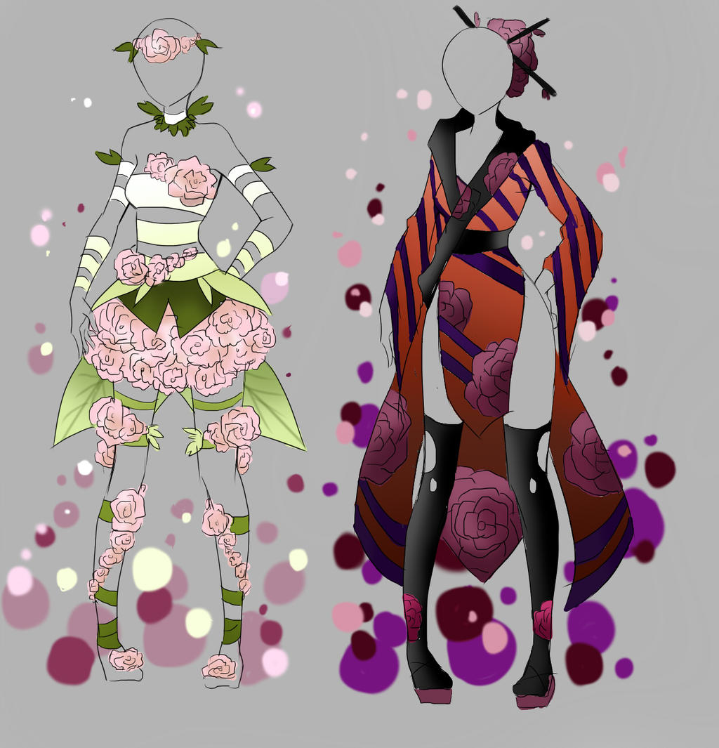 Outfit Adoptable Batch 2 [CLOSED] by Artemis-adopties on DeviantArt