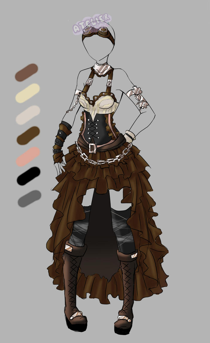 Custom Outfit 3 by Artemis-adopties on DeviantArt