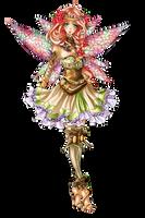 Garden Fairy Adoptable [CLOSED] by Artemis-adopties