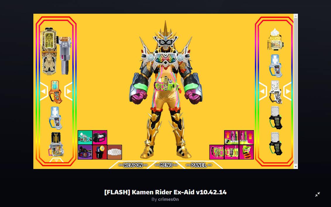 [FLASH] Kamen Rider Ex-Aid v10.42.14 by crimes0n o