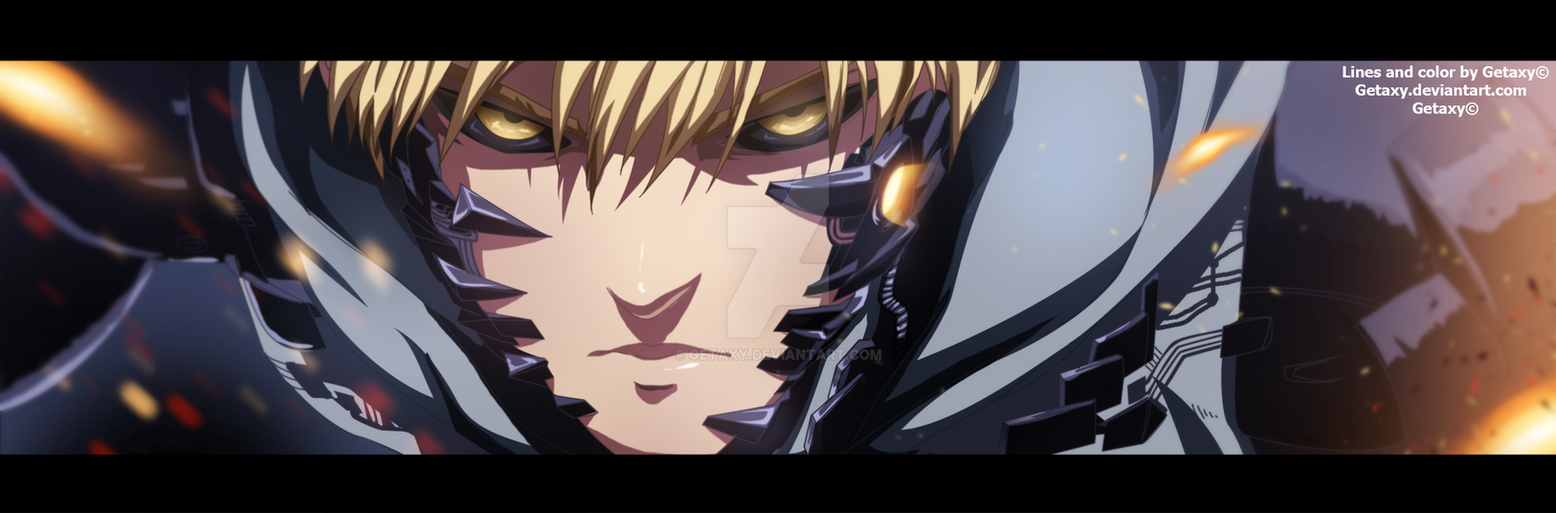 Genos - One punch man by Getaxy