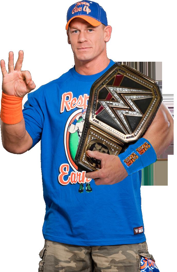 World Heavyweight Champion John Cena John Cena - WWE World ...