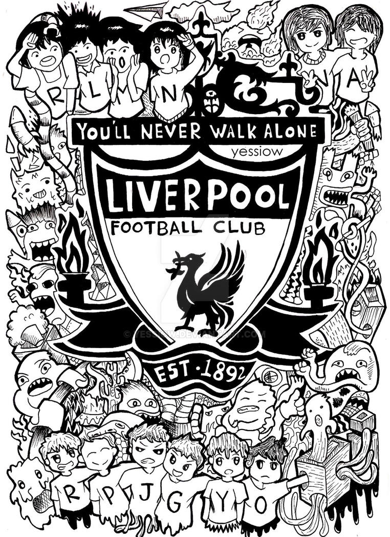 Doodle: LIVERPOOL FC by YESSIOW on DeviantArt