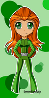 Totally Spies! - Chibi Sam by RandomSilentNinja