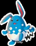 Pokemon - Azumarill