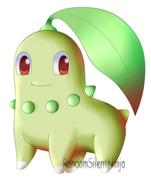 Pokemon - Chikorita by RandomSilentNinja