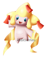 Pokemon - Shiny Jirachi by RandomSilentNinja