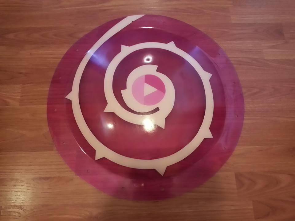 Rose Quartz Shield 3 By Candicatv2 On DeviantArt