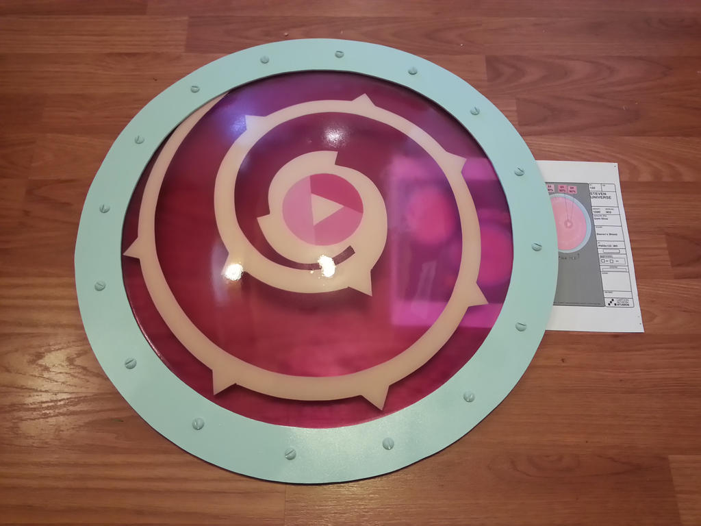 Rose Quartz Shield 6 By Candicatv2 On DeviantArt