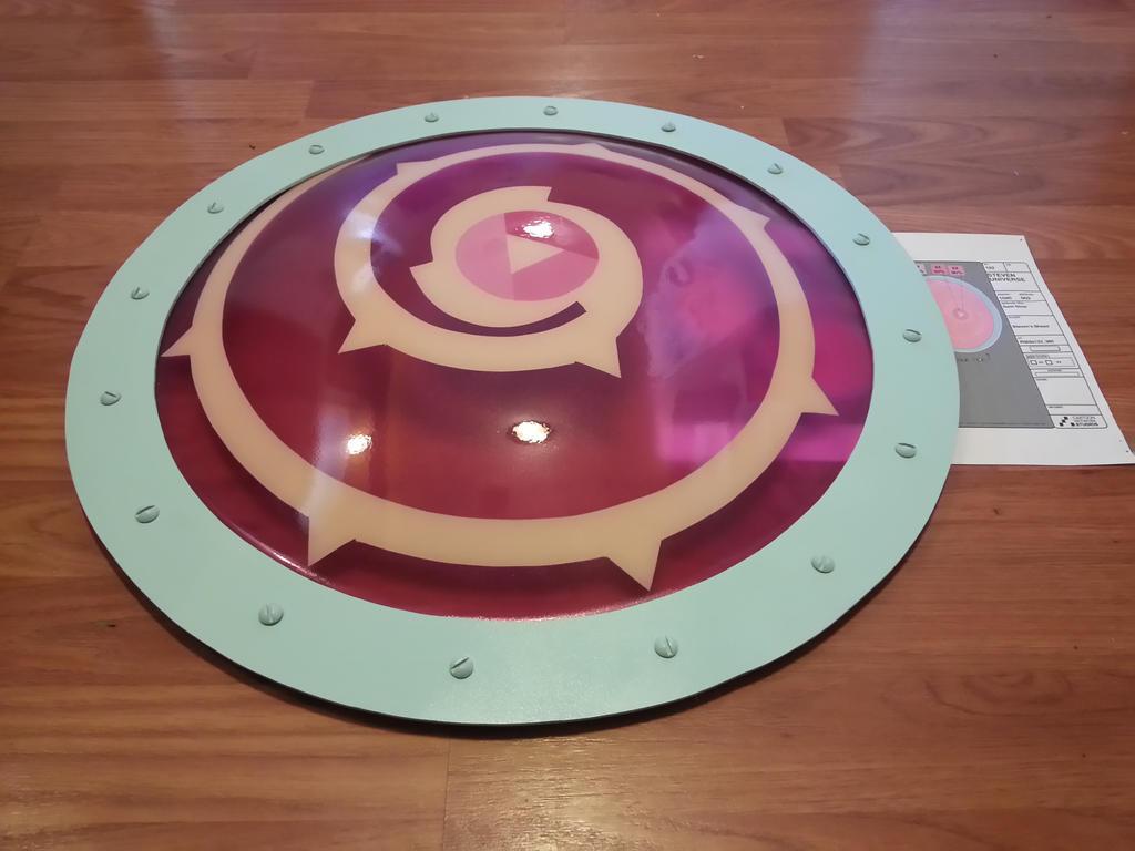 Rose Quartz Shield 5 By Candicatv2 On DeviantArt