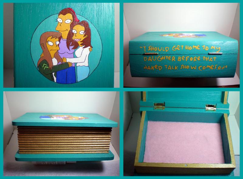 The Simpsons Box by stevoluvmunchkin