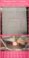 Pleated School Skirt Tutorial