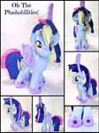 Derpy Dressed as Twilight Sparkle