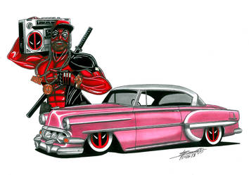 Deadpool BelAir by bass-engineer